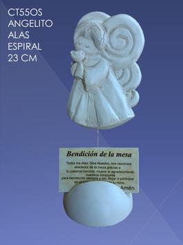 CT55OS ANGELITO ALAS EN ESPIRAL