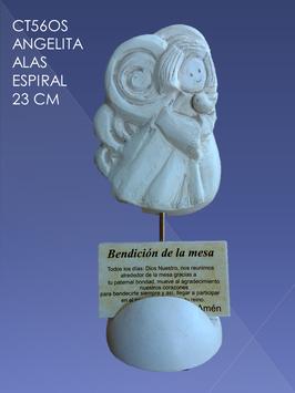 CT56OS ANGELITA ALAS EN ESPIRAL