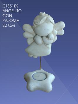 CT351ES ANGELITO CON PALOMA