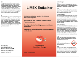 LIMEX Entkalker ( 10 kg Kanister)