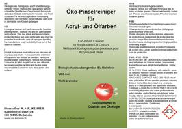 Öko-Pinselreiniger (10 Liter)