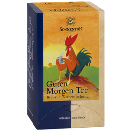 Morgentee - Biokräutermischung Sonnentor Tee