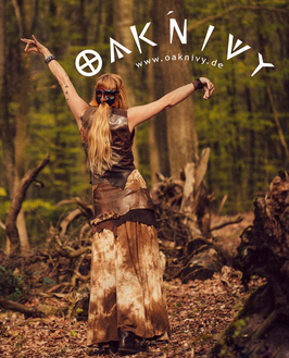 Maxi Skirt - Forest Floor