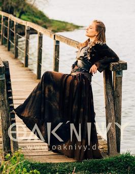 Maxi Skirt - Black Soil