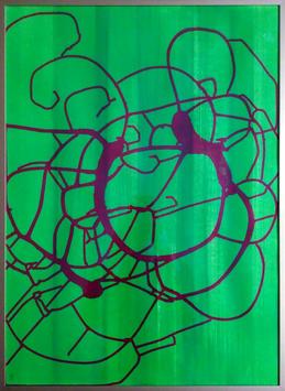 """""""grün-rot"""" von Philipp Zaugg"""