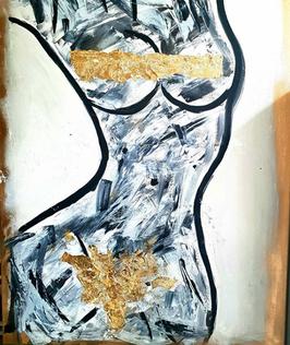 """""""Woman"""" von Art by Jana"""