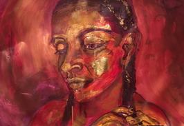 """""""Thinking red"""" von Rendel Arner"""