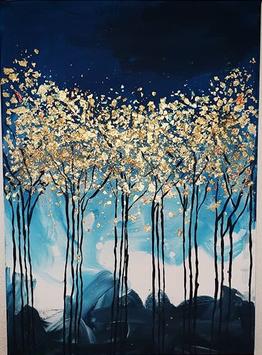 """""""Blue Forrest"""" von Art by Jana"""