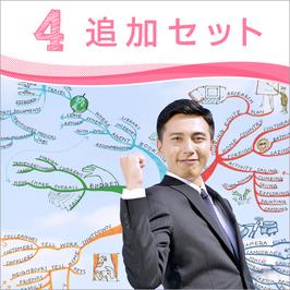 マインドマップ 社内講師養成 4追加セット (アドバンス・インスト・記憶・読書)
