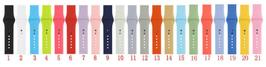 Cinturini in gomma/silicone compatibili Apple Watch cassa 42mm