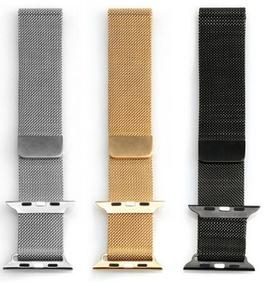 Cinturini in Maglia Milanese compatibili Apple Watch cassa 42mm
