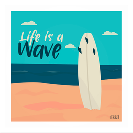 Affiche Hekikaii - Life is a wave