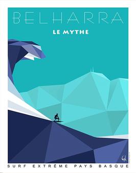 Affiche GL Design - Belharra