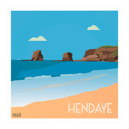 Affiche Hekikaii - Hendaye