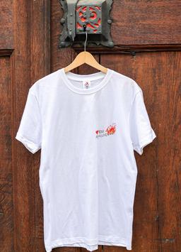 Herren T-Shirt Feuer, Sujet klein