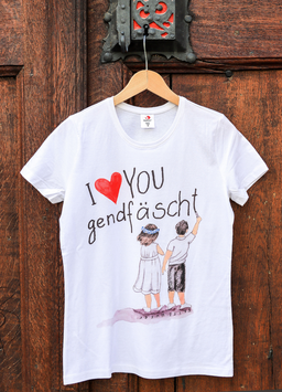 Damen T-Shirt Jugendfest-Kinder, Sujet gross