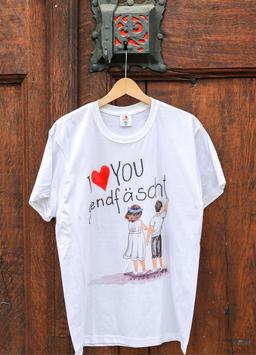 Herren T-Shirt Jugendfest-Kinder, Sujet gross