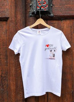 Damen T-Shirt Jugendfest-Kinder, Sujet klein