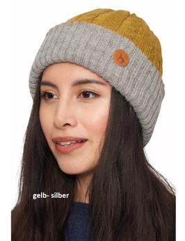 Wendebare Mütze SUAVE aus kuschelweichem Baby Alpaka