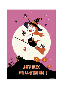 Affiche Lily Halloween