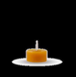 ♥ Teelicht ♥ aus 100% Bienenwachs ♥