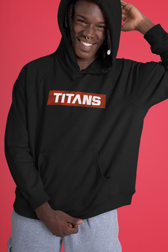 Titans Block Hoodie Mens