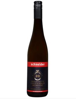 Andreas Schneider - Graurenette, Christkindler und Weinbirne 2018