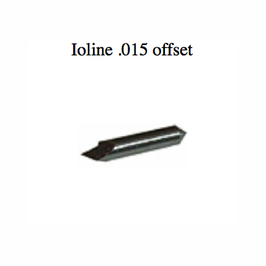 Ioline 45 Deg. Blade .015 Offset