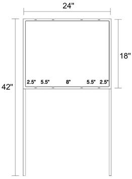 "18"" X 24"" Real Estate Frame"