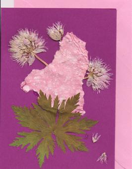 """3er Set Blüten-Faltkarten """"girlsdream"""" BSP5"""