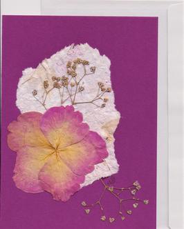 """3er Set Blüten-Faltkarten """"pink ladies"""" BSP1"""