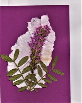 """3er Set Blüten-Faltkarten """"magic pink"""" BSP21"""