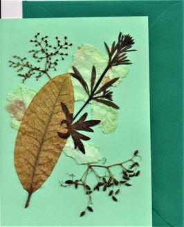 """3er Set Blüten-Faltkarten """"mint meets colours"""" BSP20"""