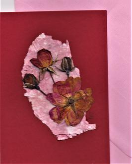 "3er Set Blüten-Faltkarten ""Rosenzauber"" BSP16"
