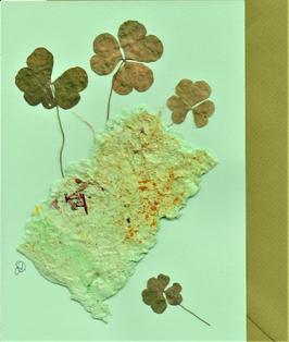 """3er Set Blüten-Faltkarten """"Farbenspiel"""" BSP22"""