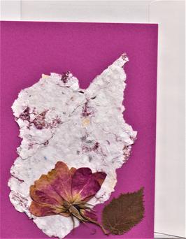 """3er Set Blüten-Faltkarten """"Spiel mit Rosen"""" BSP19"""