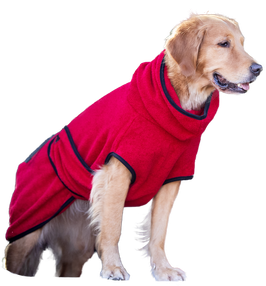 """Dryup cape """"Bademantel"""" red pepper"""