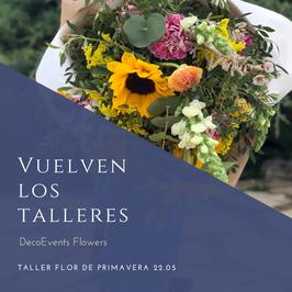 Taller floral  grupo reducido o privados