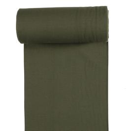 0,5m Bündchen - uni - Khaki
