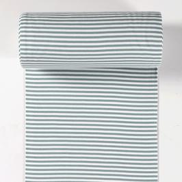 0,5m Bündchen - Streifen - Altgrün 0,5mm