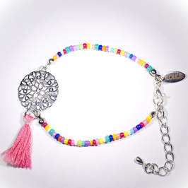 Eivissa armband zilver