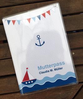 NEU | Mutterpasshülle mit maritimen Motiven
