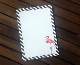 "20 Briefbogen ""Flamingo"" A5"