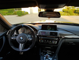 Datendisplay 3er BMW F3x
