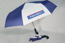 Regenschirm im Polizei Design