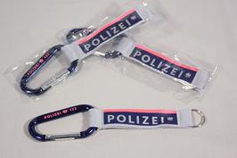 Alu-Karabiner im Polizei Design
