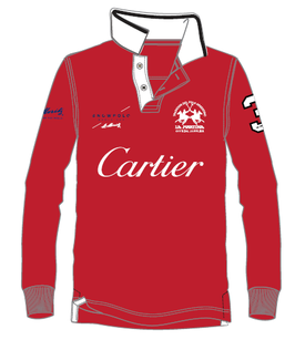 Cartier Piquet Ladies Long Sleeve Polo
