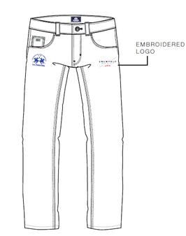 SC Official Herren Jeans