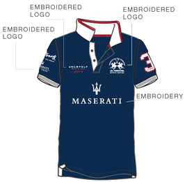 Maserati Piquet Ladies Short Sleeve Polo