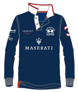 Maserati Piquet Ladies Long Sleeve Polo